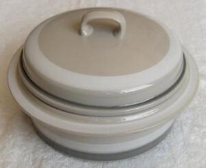 Image is loading ARABIA-Finland-dinnerware-Salla-pattern-2-qt-covered- & ARABIA Finland dinnerware~Salla pattern 2 qt covered casserole ...