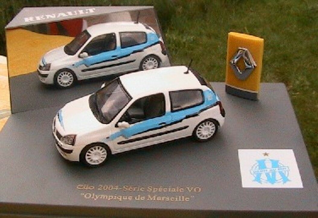 RENAULT CLIO DCI 2004 BLANCHE SERIE SPECIALE VO OM 1 43 7711227819 universal