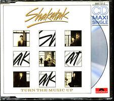 SHAKATAK - TURN THE MUSIC UP - CD MAXI [841]