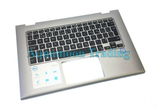 V5CHP Dell Silver XPS 13 7359 7353 7347 Laptop Palmrest FRN//CAN Keyboard CH35F