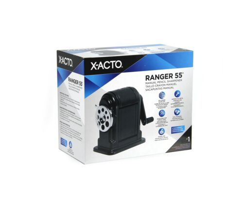Office Supplies X-ACTO Ranger 55 Manual Pencil Sharpener Business ...