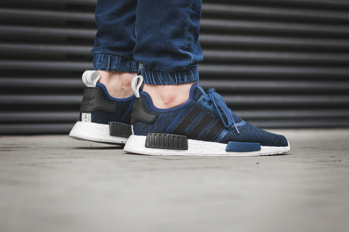 Adidas NMD R1 Mystery bluee Nomad Collegiate Navy New Men Size 10.5 (BY2775)