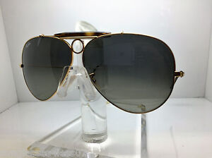 10a071b5478 New Ray Ban Sunglasses RB 3138 181 71 62MM SHOOTER RB3138 GOLD ...