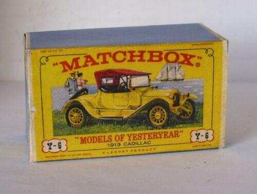 Repro box Matchbox moy nº 06 1913 Cadillac