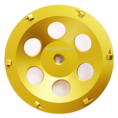 "5//8/""-11 Threads 7"" Quarter Round PCD Grinding Cup Wheel 6 Segments"