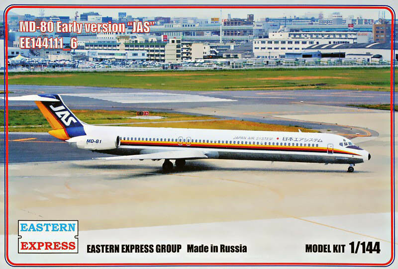 Eastern Express 1  144 McDonnell Douglas MD -80 Early Version japan Air System JAS