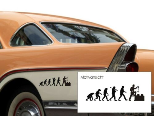 Car Sticker-Chimney Sweep-Evolution Chimney Sweeper-Free Choice of Colour
