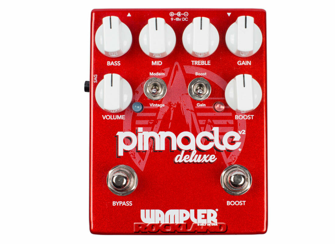 Wampler Pinnacle Deluxe V2 Distortion Verzerrer E-Gitarren Effektgerät