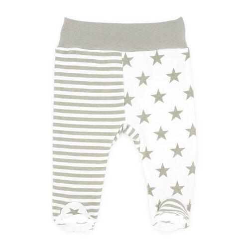 Baby Hose Mädchen und Jungen Pumphose Strampler Hose mit Fuß  56 62 68