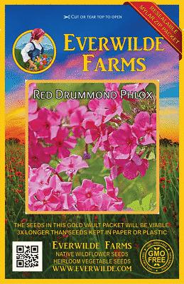 Everwilde Farms Mylar Seed Packet 1750 Stiff Goldenrod Wildflower Seeds