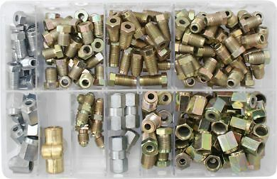van Garage UK Box of 186 car New assorted Box of brake pipe nuts /& connectors