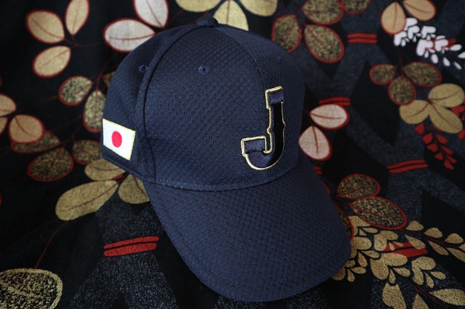 WBC World Baseball Classic SAMURAI JAPAN OFFICIAL OFFICIAL OFFICIAL CAP HINOMARU/SHOHEI OTANI LOT 3aae0d