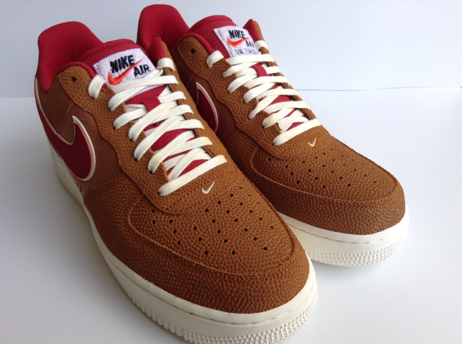 The latest discount shoes for men and women Nike Air Force 1 Low '07 LV8 Price reduction Tawny/Gym Red Men's Comfortable