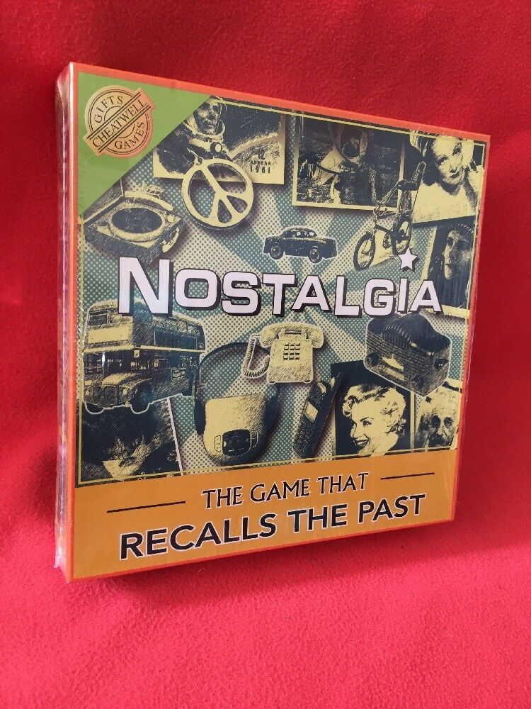 Nostalgia Board The Game The That Recalls Game The Game Past Sealed Cheatwell Games 24e4c6