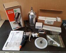 Devilbiss Flg 635 Finish Line Hvlp Spray Gun Kit With Extras