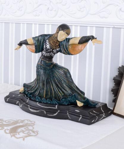 Frauenfigur orientalische Tänzerin Chiparus Skulptur Art Deco Figur Dekofigur