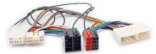 Carav 12-216 autoradio cable del adaptador ISO T-cable para mazda 1987-2001