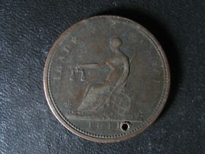 WE-6-1811-token-Wellington-Canada-Trade-amp-commerce-WEL-54-Breton-977