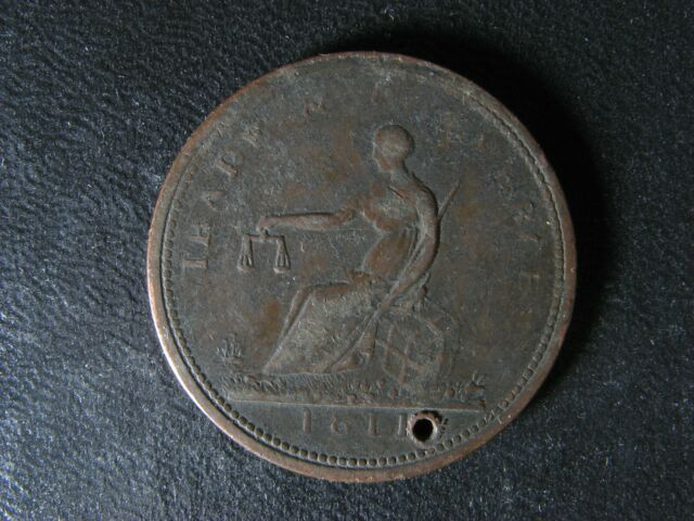 WE-6 1811 token Wellington Canada Trade & commerce WEL-54 Breton 977