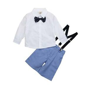 Baby-Toddler-Boy-Wedding-Christening-Tuxedo-Formal-Party-Suits-Outfit-Clothes