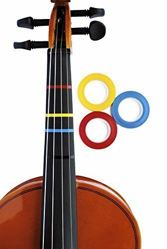 Jumbo color Violin Fingering Tape - Also For purple Bass & All String Instrument