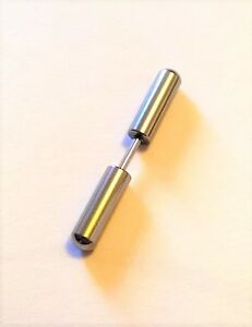 Piercing-faux-plug-Faux-ecarteur-acier-inoxydable-tige-long-ovale-argente-PFP213
