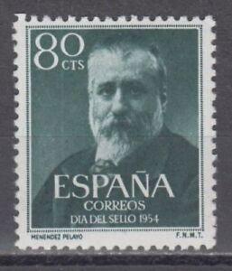 EDIFIL-1142-MARCELINO-MENENDEZ-SPANIEN-1954-MNH-NUEVO-SIN-FIJASELLOS