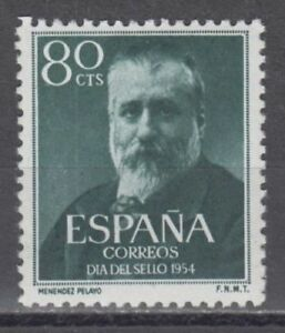 ANO-1954-EDIFIL-1142-MARCELINO-MENENDEZ-MNH-NUEVO-SIN-FIJASELLOS-SPAIN