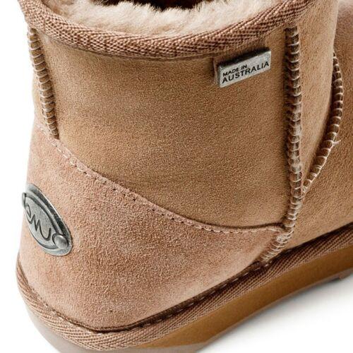 S Lo Couleur 8 Premium Emu Bottes StingerAustralieChampignon Femme Taille 34AR5jL