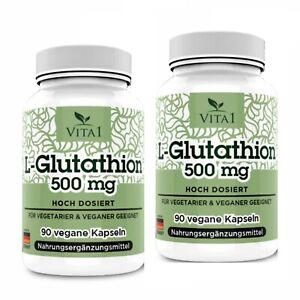 L-Glutathion-180-Kapseln-hochdosiert-250-mg-Made-in-Germany-Aminosaeuren