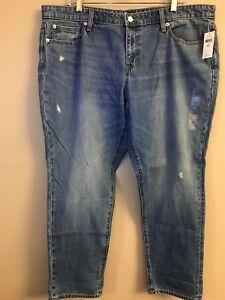 Jeans Mid Sexy Wash 216028 Destroy Boyfriend Nwt 33 Gap Lighter Rise Sz qptRF6