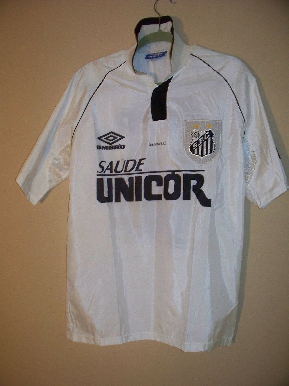 Santos FC original camiseta de equipo de Brasil