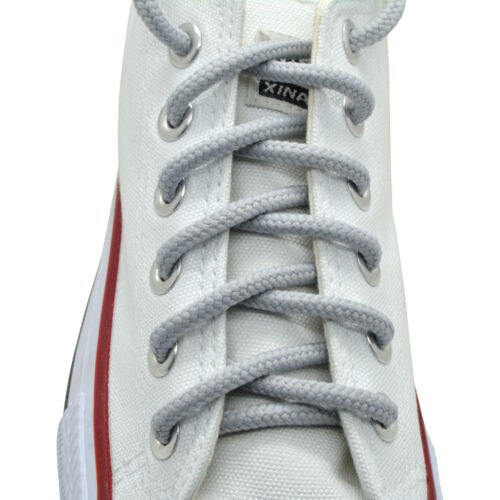 """L//Gray Round Shoelaces Brand New 27/"""",36/"""",45/"""",54/"""""""