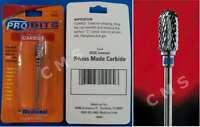 Medicool Probits Swiss Carbide Barrel Bur Rounded Coarse Nail Drill Bit Sc5c Usa