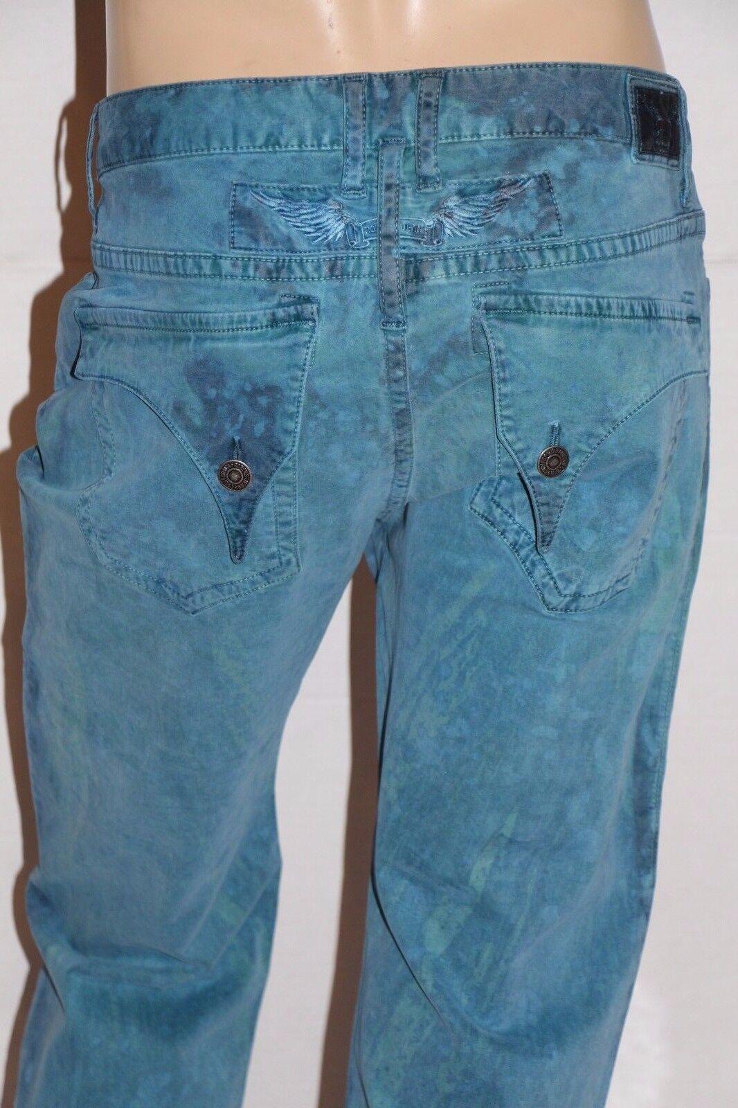 New Men's ROBIN'S JEAN sz 38  SP5687 LONG FLAP Straight Leg Pants -W15-A