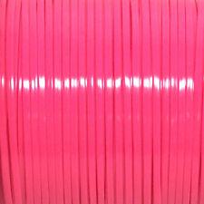 100 YARDS (91m) SPOOL NEON PINK REXLACE PLASTIC LACING CRAFTS CYBERLOX