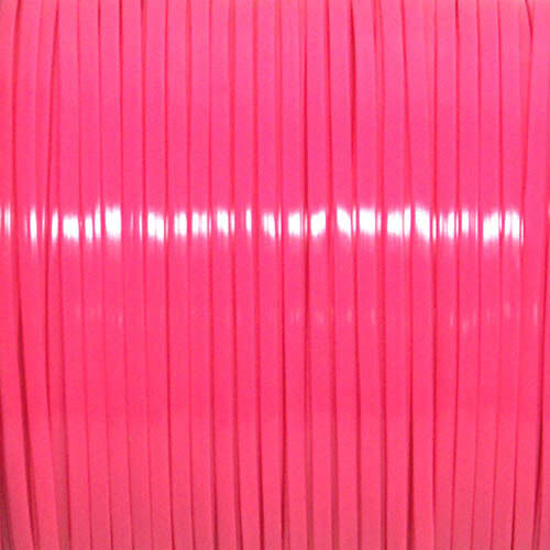 100 YARDS SPOOL NEON PINK REXLACE PLASTIC LACING CRAFTS CYBERLOX 91m