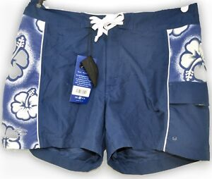 26c133943e Del Sol Surf Co. Color Changing Swim Trunks BOARD Shorts Navy ...