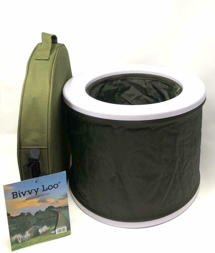 Portable Camping Toilet Outdoor Camping Folds Away Flat Supports Over 23 Stone