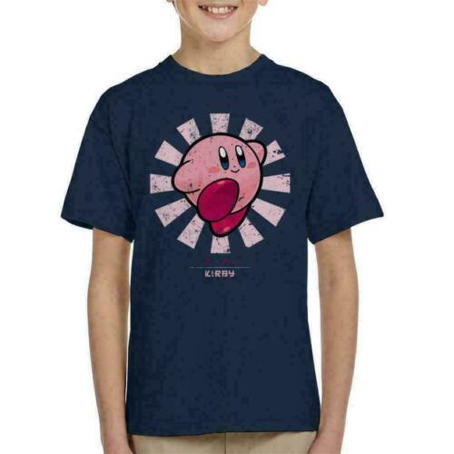 Kirby Retro Japanese Kid/'s T-Shirt