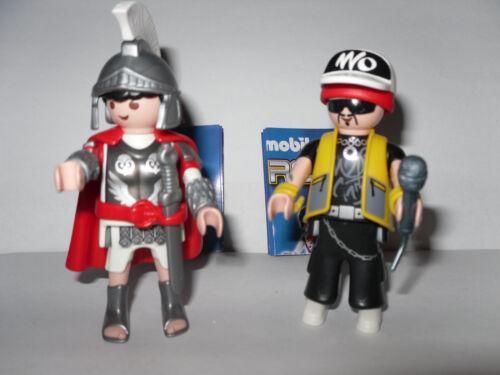 Série 4 * Boys * 2 x playmobil 5284 * romains + rappeurs * NOUVEAU