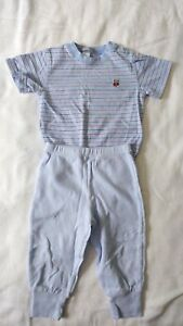 Carter-039-s-Boys-Striped-Top-Blue-Pants-Outfit-Size-12-Months