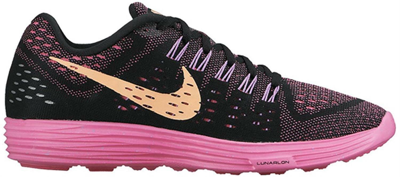 Femmes Nike Lunartempo Noir Course Baskets 705462 008