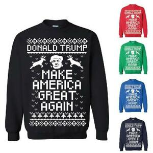 5cbcfc8f5807 Image is loading Donald-Trump-Make-America-Great-Again-Ugly-Christmas-