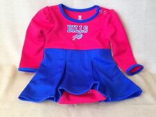 dcbfb1616 Buffalo Bills NFL Infant Toddler Cheerleader Outfit 18 months One piece