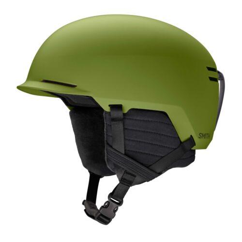 Smith Unisex Scout Ski Snow Helmet Matte Moss