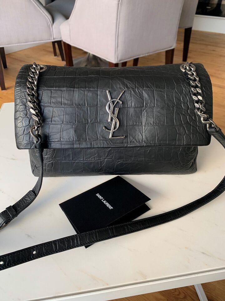 Crossbody, Yves Saint Laurent, læder