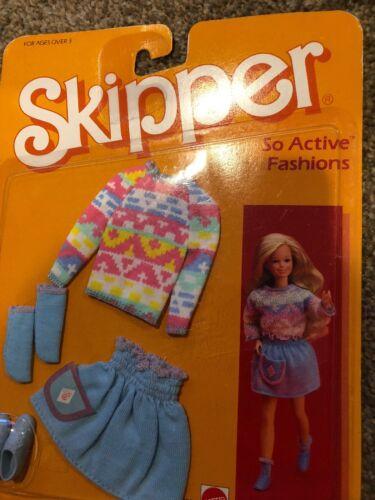 Mode-, Spielpuppen & Zubehör Skipper So Active Barbie Mattel Hawthorne Vintage Shoes Socks Sweater Skirt NEW Barbie-Kleidung & -Accessoires
