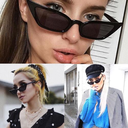 Vintage Sunglasses Women Cat Eye Sun Glasses Retro Small Luxury Brand Designer