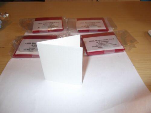 por documentos De Arte Patrimonio Papel De Color De Agua 140lb//tarjeta /& sobres rojo